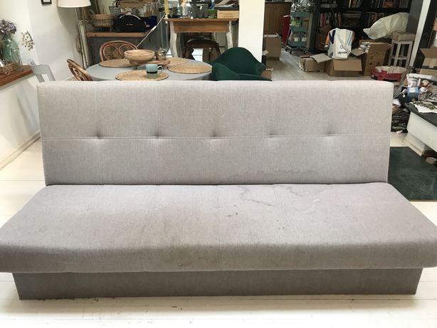 Wersalka Kanapa Sofa rozkładana z funkcją spania i pojemnikiem