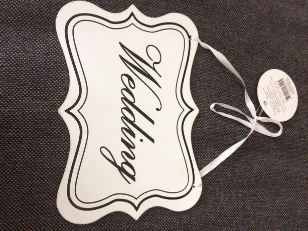 Tabliczka Dekoracyjna Wedding