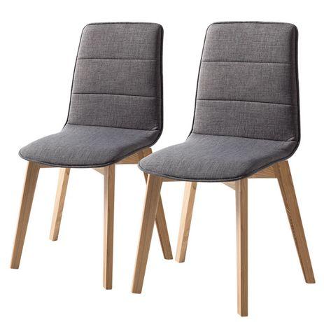 Krzesło tapicerowane do kuchni salonu Vallrun 2 szt. M009