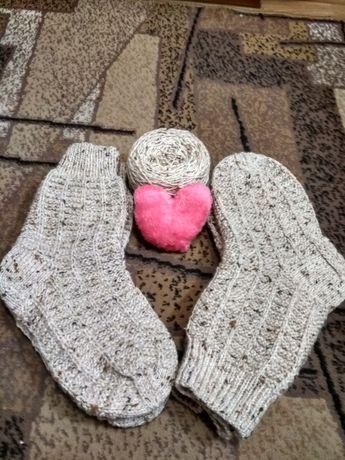 Носки шкарпетки ручная работа