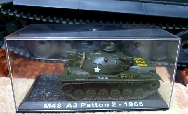 Model czołg Patton 2