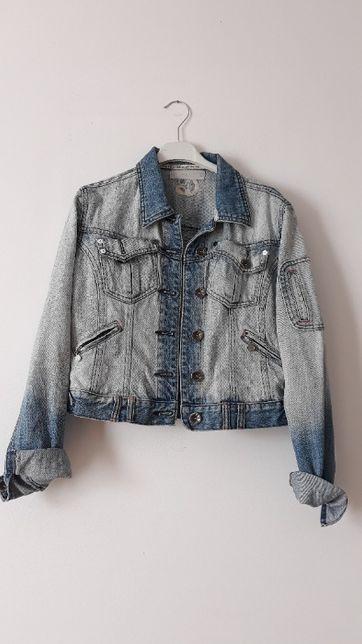 kurtka dżinsowa jeansowa katana jasna rozmiar S