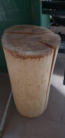 Drzewo drewno pień pniak dekoracja do ogrodu rzeźba  Wysokość 68-66 cm