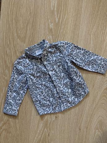 Рубашка MINICLUB(Великобритания) на 6-9 месяцев , 68-74 см