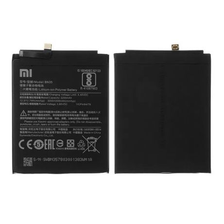Аккумулятор Xiaomi BN31 MiA1 Redmi Note 5A BN34 Redmi 5A BN35 Redmi 5
