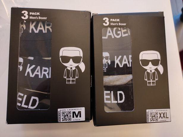 Bokserki 3Pak Karl Lagerfeld M-XXL Logowane