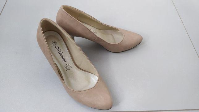 Buty beżowe rozmiar 36