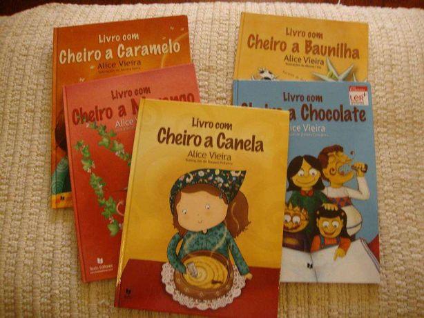 Livros Alice Vieira
