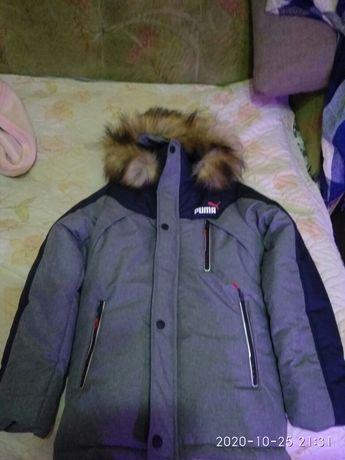 Куртка мальчик зима