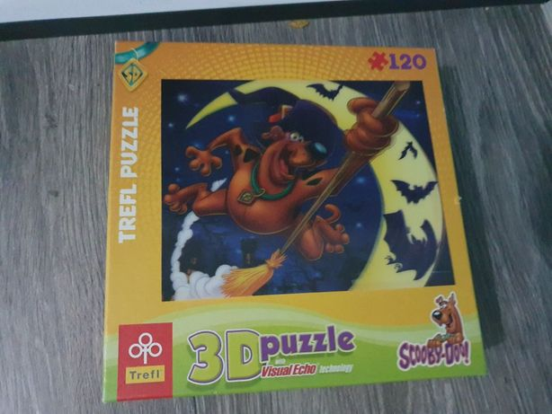 Puzzle Scooby-Doo 3D