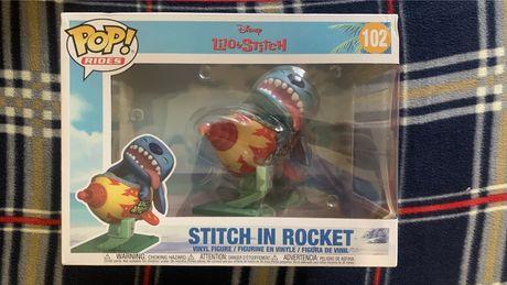 Funko pop disney lilo and stitch in rocket 102