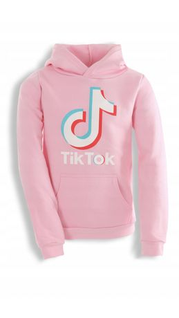 Bluza różowa TIK TOK dla dziewczynki 146, 152, 158
