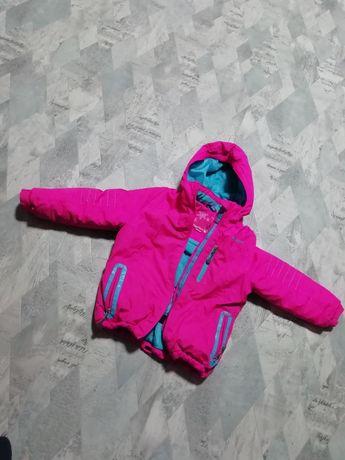 Термо куртка, зимняя курточка, 2-4 года+ подарок