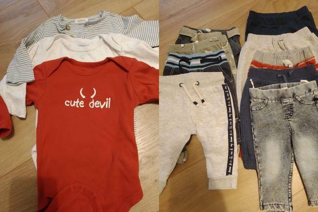 Ubranka dla chłopca 50, 62, 68, 74, smyk, hm, gap i inne