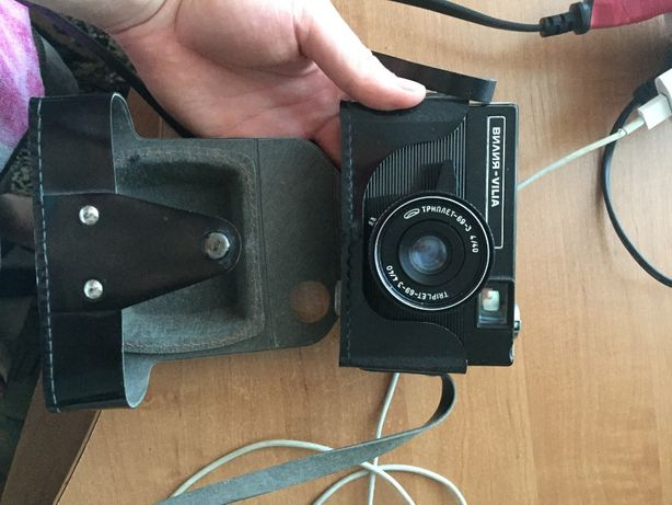 Пленочный фотоапарат Висла авто