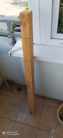 Belka drewniana 130cm