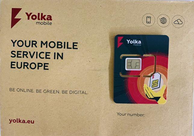 Sim card Yolka—Сим карта Елка