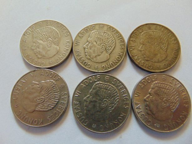 Monety szwedzkie 1 kr