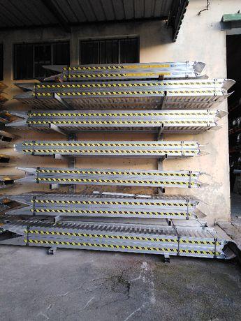 Rampas de aluminio para carga