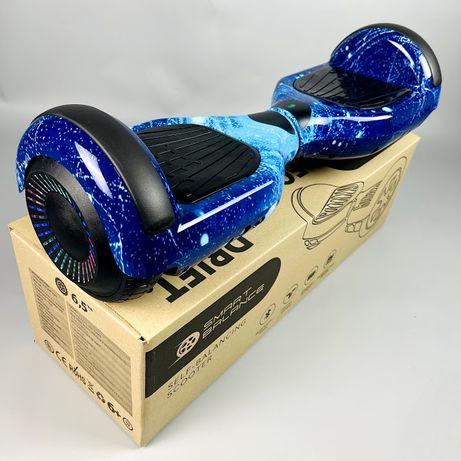 Гироборд 6.5д Бренд Смарт баланс, гироскутер,сигвеи,цвет Синий космос