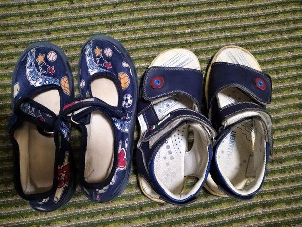 Отдам летнюю обувь и тапочки