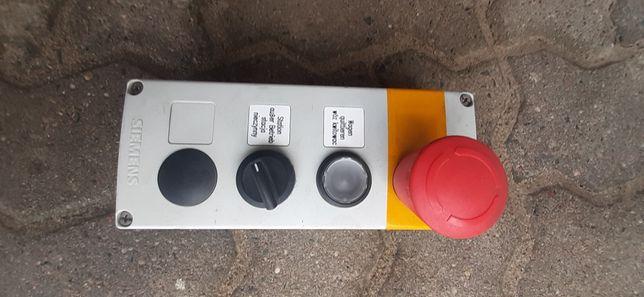 Kaseta sterująca z przyciskiem awaryjnym SIEMENS 3SB38