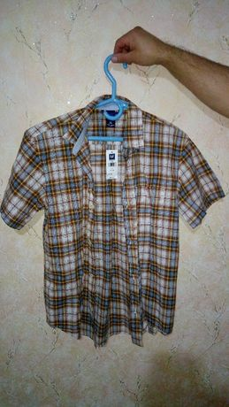 Детская/Подростковая рубашка с коротким рукавом GAP Kids