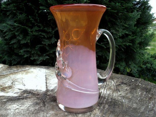 wazon PRL szkło