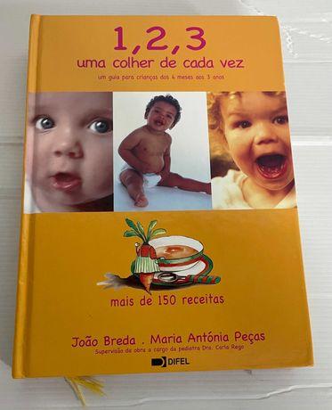 Livro de receitas infantil