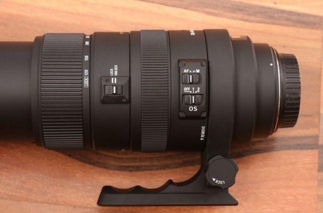 Sigma 120-400 mm f4.5-5.6 APO OS DG HSM Canon EF Wolsztyn