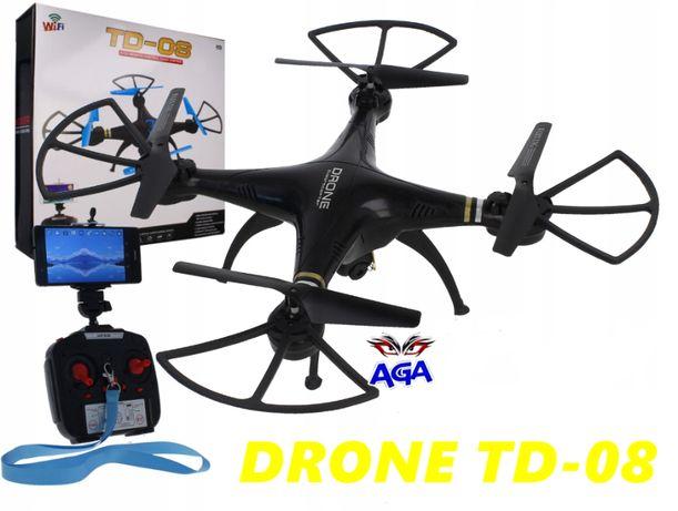 DRON TD08 Z Kamerą WiFi Podgląd Na Żywo W Telefonie