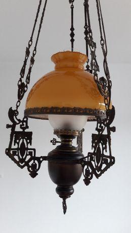 Żyrandol stylowy pokojowy metalowy lampa