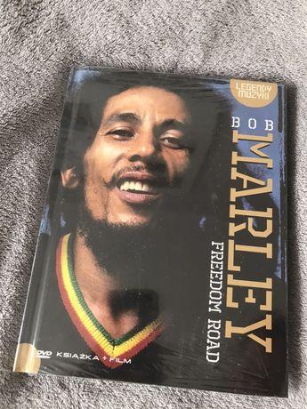 Płyta i książka Bob Marley Freedom Road