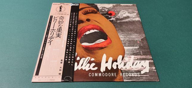 BILLIE HOLIDAY - japan obi MONO vinyl, płyta winylowa