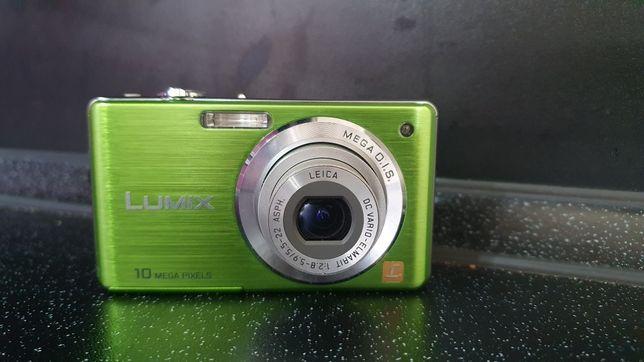 Aparat cyfrowy Panasonic Lumix DMC-FS7 + karta 8GB + etui Hama