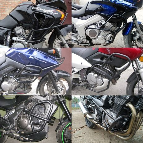 Дуги безопасности на мотоцикл защитные мото дуги багажник на мотоцикл
