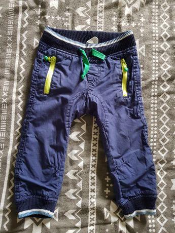 Spodnie granatowe 86