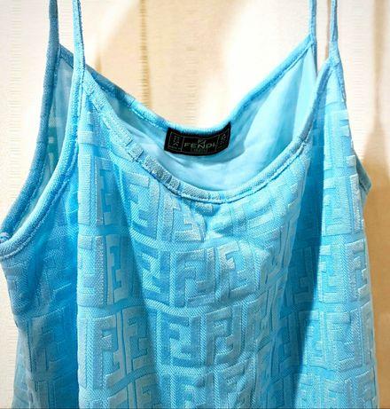 Продам летнее платье , сарафан Fendi