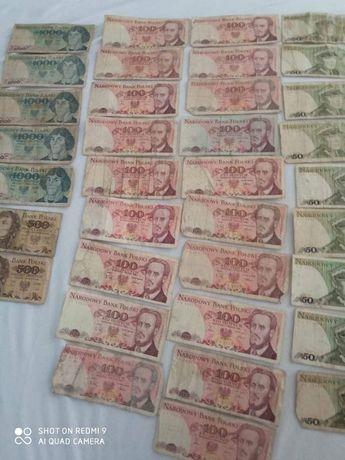 Zamienię monety i banknoty prl