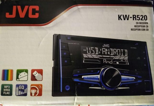JVC KW-R520  i radio z wysuwanym ekranem zamiana