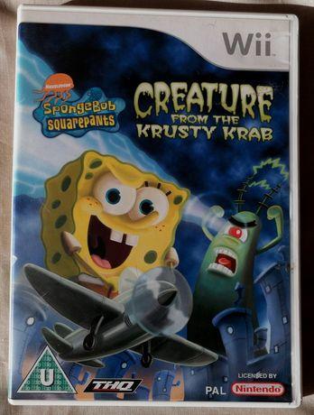 SpongeBob Squarepants™ Creature from the Krusty Krab Wii (COMO NOVO)