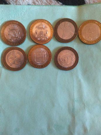 Российские Юбилейные монеты обмен