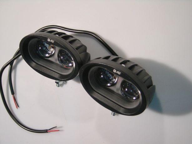 Faróis auxiliares duplo LED