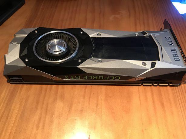 Placa Gráfica NVidia GeForce GTX 1080 Founders Edition 8GB DDR5