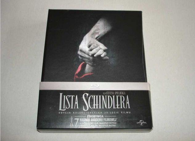 Lista Schindlera Edycja na 20-lecie (Blu-Ray+ DVD) PL - Nowe