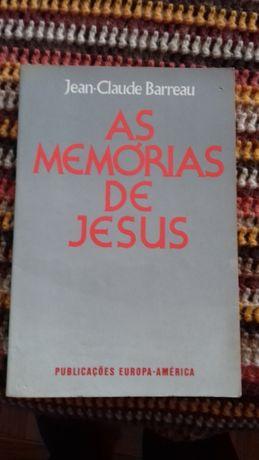Livro as memorias de Jesus
