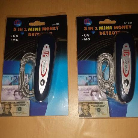 Мини детектор для денег DP-323AE Ультрафиолетовый магнитный детектор в