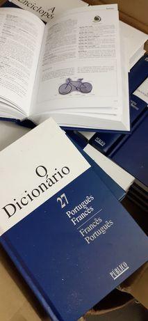 Coleção enciclopédias  e dicionários