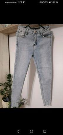 Nowe jeansy M wyższy stan