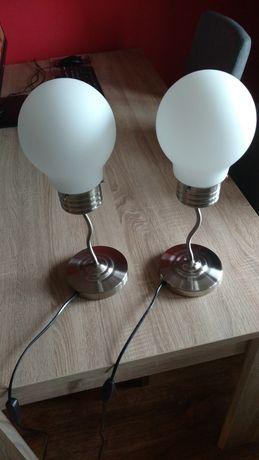 Lampki nocne i lampa sufitowa